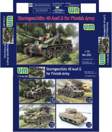 1:72 UM282 - Sturmgeschutz 40 Ausf.G for Finnish Army