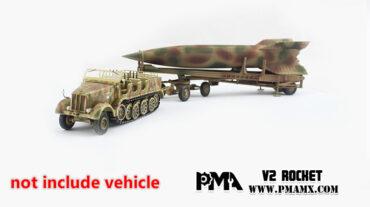 V2 ROCKET. PMA. Modely tanků. Modely vojenské techniky. Sběratelské modely . Modely letadel . Hotové modely . Sběratelské modely letadel. Sběratelské modely vojenské techniky a tanků. Kovové modely. Diecast models aircraft , military vehicles , tanks .