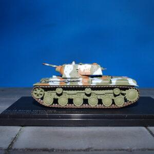 KV-1E Russian Heavy Tank 3rd Company, Finnish 1st Tank Brigade (3./I/Ps.Pr) Karelian Isthmus, July 1944.Modely tanků.Diecast models tanks.Hobby Master HG3013.