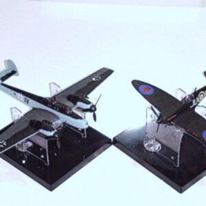 Spitfire night fighter & Messerschmitt Bf110G Modely letadel Sběratelské modely . Modely tanků a vojenské techniky. Hotové modely . Diecast models aircraft , military vehicles and tanks plastic models kits.