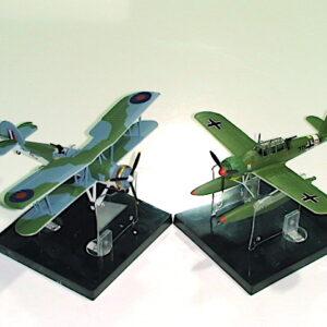 Modely letadel Fairey Swordfish Arado Ar 196. Sběratelské modely . Modely tanků a vojenské techniky. Hotové modely . Diecast models aircraft , military vehicles and tanks.