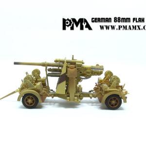 88 mm FLAK 36.PMA. Modely tanků. Modely vojenské techniky. Sběratelské modely . Modely letadel . Hotové modely . Sběratelské modely letadel. Sběratelské modely vojenské techniky a tanků. Kovové modely. Diecast models aircraft , military vehicles , tanks .