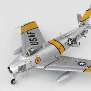 "F-86E Sabre, Charles ""Chick"" Cleveland.Hobby Master HA4314b."