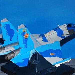 Sukhoi Su-27UB. Modely letadel . Modely tanků. Modely vojenské techniky. Sběratelské modely . Hotové modely. Kovové modely. Diecast aircraft models , military vehicles.