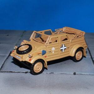 VW Kubelwagen Type 82.Kfz.1.Modely vojenské techniky.Cararama 4-90640.Modely tanků. Sběratelské modely. Modely vrtulníků. Hotové modely. Sběratelské modely letadel. Sběratelské modely vojenské techniky a tanků. Kovové modely. Diecast models aircraft , helicopters , military vehicles , tanks .