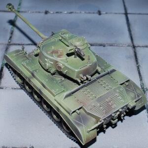 M26E2 Pershing. Modely tanků. Easy Model. Modely letadel. Modely vojenské techniky. Sběratelské modely. Modely vrtulníků. Hotové modely. Sběratelské modely letadel. Sběratelské modely vojenské techniky a tanků. Kovové modely. Diecast models aircraft,military vehicles,tanks.