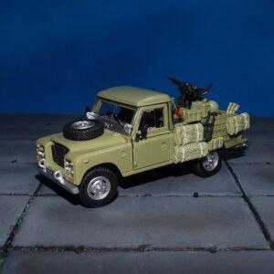 Land Rover.S3.S.A.S. Modely aut. Diecast models cars.Cararama.Oxford.251XND-004. Modely vojenské techniky. Diecast models military vehicles. Modely tanků. Diecast models tanks. Sběratelské modely. Hotové modely aut Sběratelské modely aut. Sběratelské modely vojenské techniky a tanků. Kovové modely aut.