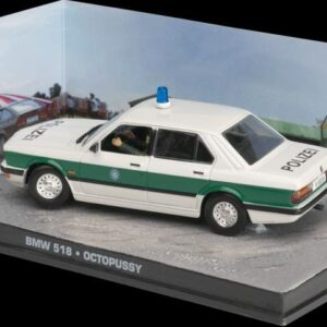 BMW.BMW 518.Octopussy.James Bond Collection.Modely aut.Diecast models cars.