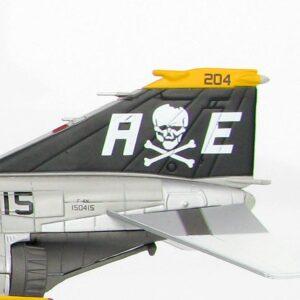 F-4 Phantom II. McDonnell Douglas F-4 Phantom II.Jolly Rogers.Modely letadel. Diecast models aircraft.HOBBY MASTER HA1976. Modely dopravních letadel. Modely vrtulníků. Diecast models helicopters. Diecast models cars. Modely vojenské techniky. Diecast models military vehicles, Modely raket. Diecast models rockets. Sběratelské modely. Hotové modely. Sběratelské modely letadel. Kovové modely.