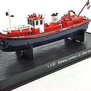 Boat Pump LTN 'Gillet' SDIS 78 (France).Modely lodí.Kovové modely.Diecast models ships.Sběratelské modely bitevních lodí.Hotové modely.Modely zaoceánských lodí.Diecast models of ocean liners.