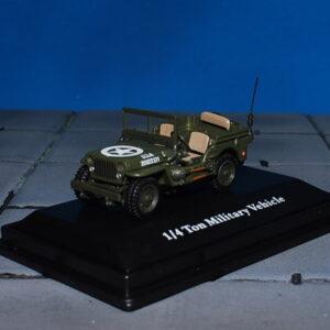 Jeep Willys.Jeep CJ-2A.Modely vojenské techniky.Cararama. Diecast models military vehicles. Modely tanků. Models diecast tanks. Modely aut. Diecast models cars. Modely letadel. Diecast models aircraft. Diecast models helicopters. Sběratelské modely. Hotové modely. Sběratelské modely tanků. Kovové modely.