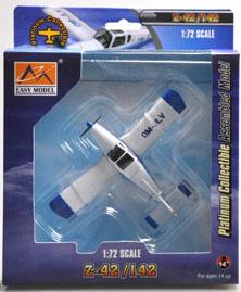 Zlin Z-42.Zlin Z-42M.Zlin Z-142.Modely letadel. Diecast models aircraft.Easy Model 36435. Modely dopravních letadel. Modely vrtulníků. Diecast models helicopters. Diecast models cars. Modely vojenské techniky. Diecast models military vehicles, Modely raket. Diecast models rockets. Sběratelské modely. Hotové modely. Sběratelské modely letadel. Kovové modely.