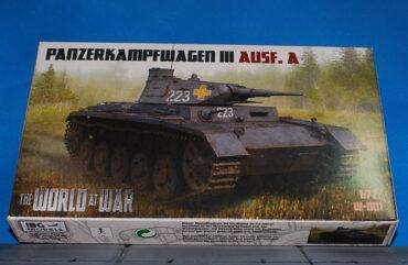 Panzer III.Pz.Kpfw.III.Sd.Kfz.141.Modely tanků.Plastic model kits.IBG Models.W-001.