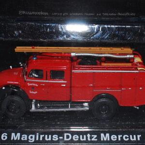 Magirus Mercur.TLF 16 Magirus-Deutz Mercur 125 A.Modely hasícských vozidel.Diecast models fire engine.Altaya MAG GZ03.Hotové modely.Sběratelské modely Kovové modely. Diecast models cars.fire engine.military vehicles.