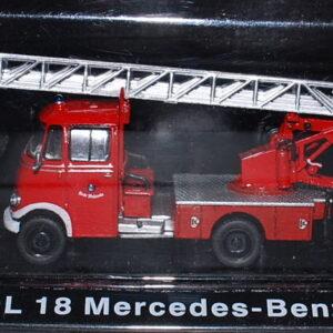 Metz DL 18 Mercedes Benz L 319.Modely hasícských vozidel.Diecast models fire engine.Altaya MAG GZ07.Hotové modely.Sběratelské modely Kovové modely. Diecast models cars.fire engine.military vehicles.
