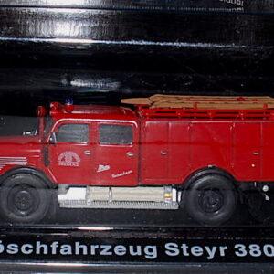 Steyr 380. Löschfahrzeug.Modely hasícských vozidel.Diecast models fire engine.Altaya MAG GZ14.Hotové modely.Sběratelské modely Kovové modely. Diecast models cars.fire engine.military vehicles.