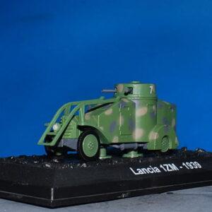 Lancia 1ZM.Modely aut. Diecast models cars. Modely vojenské techniky. Diecast models military vehicles.AMERCOM AM BV43.Hotové modely.Sběratelské modely Kovové modely.