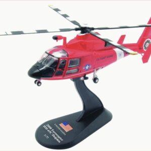 HH-65 Dolphin.Eurocopter HH-65 Dolphin.Aérospatiale SA 365.Modely vrtulníků.Amercom AM HS22.Diecast models helicopters. Modely letadel. Diecast models aircraft. Modely dopravních letadel. Modely vojenské techniky. Diecast models military vehicles, Modely raket. Diecast models rockets. Sběratelské modely. Hotové modely. Sběratelské modely letadel. Kovové modely.
