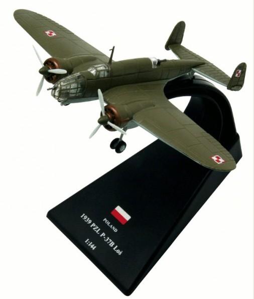 Łoś Poland 1939-1//144 PZL P-37 Los No1