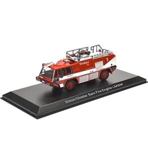 Gloster Saro Fire Engine LSA044.Simon.Saro.Stobart Air.Modely hasícských vozidel.Diecast models fire engine.Atlas Editions 4664121.Hotové modely.Sběratelské modely Kovové modely. Diecast models cars.fire engine.military vehicles.