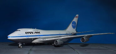 Boeing747.B747. Boeing 747SP.Pan Am Clipper Freedom. Modely letadel. Diecast models aircraft. Modely dopravních letadel. Diecast models airplane.InFlight 200 IF747SP0818P.