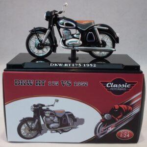 DKW RT 175 VS.Motocykl.Motorbike.Modely motocyklů.Diecast motorbike models.Atlas Editions Classic Motorbikes .
