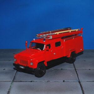 AC-30.(53A)-106A.Fire Truck.GAZ-53.Modely hasíčských vozidel.Diecast models cars.fire engine.DeAgostini Auto Legends USSR Trucks DAT008.