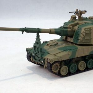 Type 99.Mitsubishi.Type 99 155 mm Self-Propelled Howitzer.JGSDF. Modely vojenské techniky.Diecast models military vehicles.DeAgostini DA013.Modely letadel. Diecast models aircraft. Diecast models helicopters. Sběratelské modely. Hotové modely. Sběratelské modely tanků. Kovové modely.