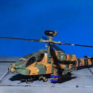 AH-64 Apache.AH-64D Longbow Apache. Modely vrtulníků.DeAgostini DA03 .Diecast models helicopters. Modely letadel. Diecast models aircraft. Modely dopravních letadel. Modely vojenské techniky. Diecast models military vehicles, Modely raket. Diecast models rockets. Sběratelské modely. Hotové modely. Sběratelské modely letadel. Kovové modely.