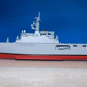 Ohsumi.Ōsumi.Ship.Ohsumi.Ōsumi.Class Tank Landing Ship.JMSDF.Modely lodí.Kovové modely.Diecast models ships.DeAgostini DA025.Kovové modely.Diecast models ships. Modely zaoceánských lodí.Diecast models of ocean liners.Modely bitevních lodí. Diecast models of battleships.
