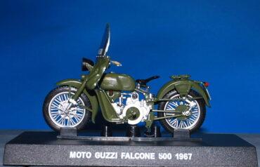 Moto Guzzi FALCONE 500.Motocykl.Motorbike.Modely motocyklů.Diecast motorbike models.Grani & Partners Special Edition.Carabinieri 00137895.