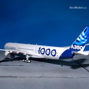 A350.Airbus A350-1000.A350 XWB.Modely dopravních letadel. Diecast models airplanes.Aviation 400 AV4018.