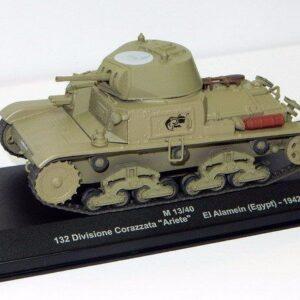 Fiat M13/40.Tank.Modely tanků. Diecast models tanks.Atlas. Modely vojenské techniky. Diecast models military vehicles. Modely aut. Diecast models cars. Modely letadel. Diecast models aircraft. Diecast models helicopters. Sběratelské modely. Hotové modely. Sběratelské modely tanků. Kovové modely.