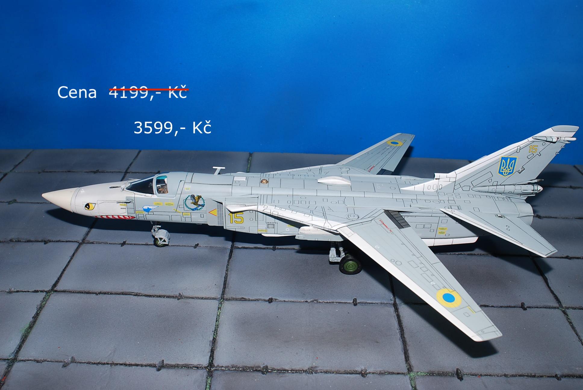Su-24.Sukhoi Su-24.Fencer.Modely letadel.Diecast models aircraft.Calibre Wings CA722402. Modely vrtulníků. Diecast models helicopters. Diecast models cars. Modely vojenské techniky. Diecast models military vehicles. Modely raket. Diecast models rockets. Sběratelské modely. Hotové modely. Sběratelské modely letadel. Kovové modely.
