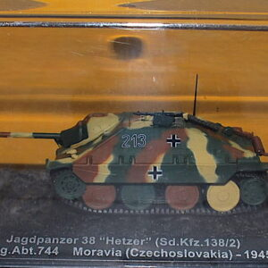 Jagdpanzer 38.Sd.Kfz.138/2 Hetzer.Modely vojenské techniky.Diecast models military vehicles.DeAgostini DT054.Modely tanků. Models diecast tanks. Modely aut. Diecast models cars. Modely letadel. Diecast models aircraft. Diecast models helicopters. Sběratelské modely. Hotové modely. Kovové modely.