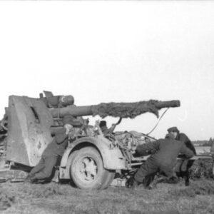 GERMAN 8.8CM Flak 36:37 GUN USSR 1942.Forces of Valor UN801008A.