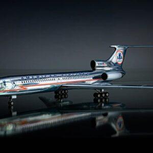 Tu-154.Tupolev Tu-154M.American Airlines.Modely letadel.Modely dopravnich letadel.Diecast models airlines.JC Wings JC2736.