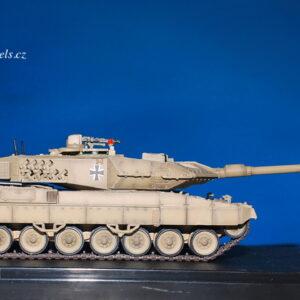 LEOPARD 2 A5 Main Battle Tank.Modely tanků.Diecast models tanks.Panzerkampf PAN12172PC.Modely vojenské techniky. Diecast models military vehicles. Modely aut. Diecast models cars. Modely letadel. Diecast models aircraft. Diecast models helicopters. Modely raket. Diecast models rockets. Sběratelské modely. Hotové modely. Sběratelské modely tanků. Kovové modely.