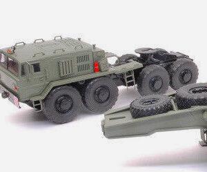 MAZ-537 Heavy Transporter.Modely vojenské techniky. Diecast models military vehicles.Premium ClassiXXs PCL47049.Modely tanků. Models diecast tanks. Modely aut. Diecast models cars. Modely letadel. Diecast models aircraft. Diecast models helicopters. Sběratelské modely. Hotové modely. Kovové modely.