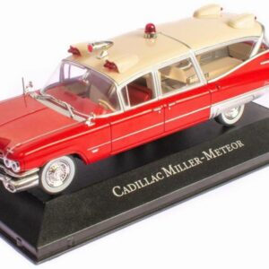 Cadillac.Cadillac Superior Miller Meteor.Ambulance.Modely aut.Diecast models cars.Atlas Editions Ambulance Collection MAG KX02.Modely nákladních aut. Diecast models vehicles.trucks. Modely hasíčských,požarních vozidel. Diecast models cars.fire engine. Transport diecast models. Modely vojenské techniky. Diecast models military vehicles. Modely tanků. Diecast models tanks. Sběratelské modely. Hotové modely. Kovové modely.