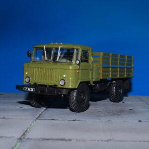 GAZ.ГАЗ.GAZ-66.Modely nákladních aut.Diecast models vehicles.DeAgostini 40. Modely aut.Modely vojenské techniky.Sběratelské modely.Hotové modely.Sběratelské modely Kovové modely. Diecast models cars.military vehicles.