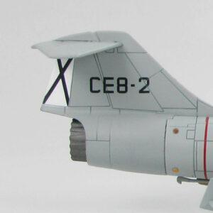F-104.Lockheed TF-104G Starfighter.Modely letadel.Diecast models aircraft.Hobby Master HA1056. Modely vrtulníků. Diecast models helicopters. Diecast models cars. Modely vojenské techniky. Diecast models military vehicles. Modely raket. Diecast models rockets. Sběratelské modely. Hotové modely. Kovové modely.