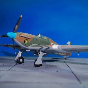 Hawker Hurricane Mk.II.Modely letadel.Diecast models aircraft.Hobby Master HA8651.Modely vrtulníků. Diecast models helicopters. Diecast models cars. Modely vojenské techniky. Diecast models military vehicles. Modely raket. Diecast models rockets. Sběratelské modely. Hotové modely. Kovové modely.