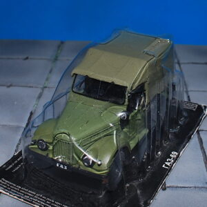 GAZ.ГАЗ.GAZ-69 Light Truck.Modely nákladních aut.Diecast models vehicles.DeAgostini 59. Modely aut.Modely vojenské techniky.Sběratelské modely.Hotové modely.Sběratelské modely Kovové modely. Diecast models cars.military vehicles.