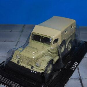 GAZ.ГАЗ.GAZ-62 Military Utility Vehicle.Modely nákladních aut.Diecast models vehicles.DeAgostini 269. Modely aut.Modely vojenské techniky.Sběratelské modely.Hotové modely.Sběratelské modely Kovové modely. Diecast models cars.military vehicles.