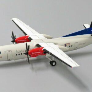Fokker 50.F27 Mark 050.Modely dopravnich letadel.Diecast models airplanes.aircraft.JC Wings XX2052.