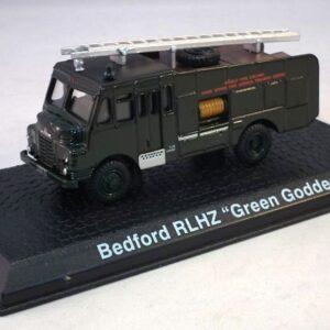 Bedford RLHZ Green Goddess.Modely hasícských vozidel.Atlas Editions MAG HY27.Modely hasícských,požarních vozidel.Sběratelské modely.Hotové modely.Sběratelské modely Kovové modely. Diecast models cars.fire engine.military vehicles.