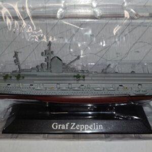Graf Zeppelin Aircraft Carrier.1938.Modely bitevních lodí.Sběratelské Kovové modely lodí.Diecast models ships.Atlas Editions MAG KZ11