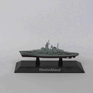 DEUTSCHLAND Training ship 1960.Modely bitevních lodí.Sběratelské Kovové modely lodí.Diecast models ships.Atlas Editions MAG KZ47.