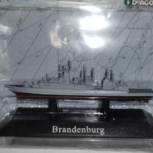 Brandenburg Class Class Frigates.1994.Modely bitevních lodí.Sběratelské Kovové modely lodí.Diecast models ships.DeAgostini MAG KZ50.